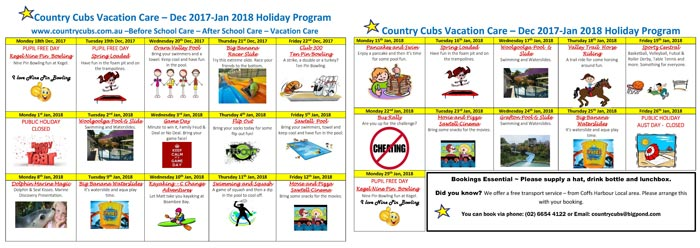 Download Holiday Activity Program